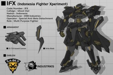 Tactical Surface Fighter IFX by Rekkou