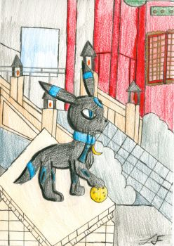 Umbreon by KilbeyTheSpaceBunny