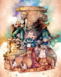 FFIX Leaving Madain Sari by NekoZidaneTribal