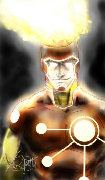 Firestorm - The Nuclearman by anonymous1310