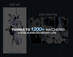 [PSD] PACK 1200+ by justblackssi by justblackssi