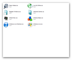 Windows Live Icons by Alin007
