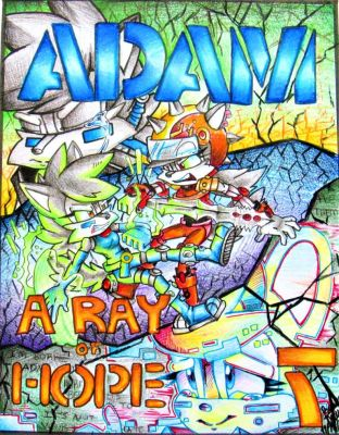 ADAM Issue 7: A Ray of Hope: Cover by Bowgirl5