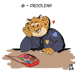 Day 6 - Drooling by IlaZua