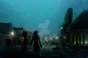 Underwater city by foofighters111
