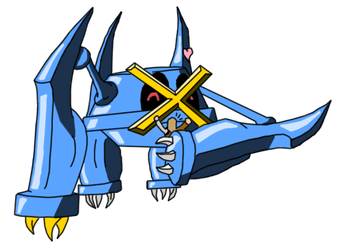 Peanuts the Metagross by Xavius-Windsong