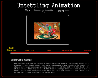 Unsettling Animation: The Great Fusilli by WritingForNoReason