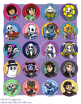 Button Designs 5 by forte-girl7