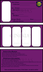 Mansion ID Template