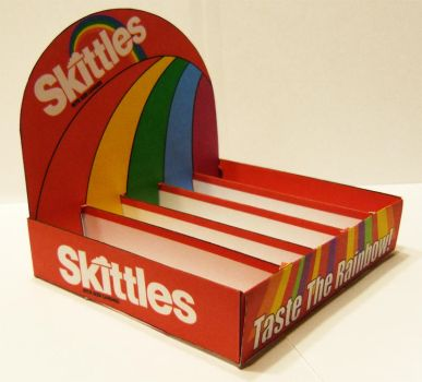 My Skittles POP Display by nagohsirhc