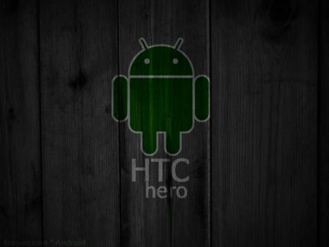HTC Hero Android home by LbSquat