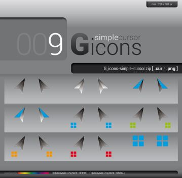G_icons-simple-cursor by GregorKerle