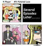 4-Player #3 Paternal Love by ObsidianWolf7