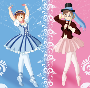 APH- Ballerinas  by Chantalwut