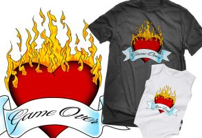 Shirt: Game Over Tattoo by GAME-OVER-CUSTOM