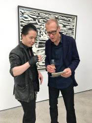 Michael Andrew Law meet with Christian Marclay by michaelandrewlaw