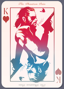 The Phantom Pain by Art-Calavera