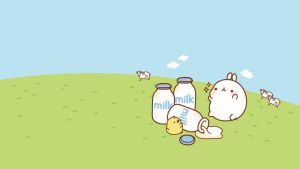 Wallpaper Molang by leyfzalley