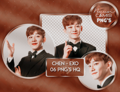 [PNG PACK #79] CHEN(EXO) by ByunCamis