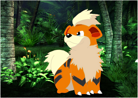 Growlithe by jagged66