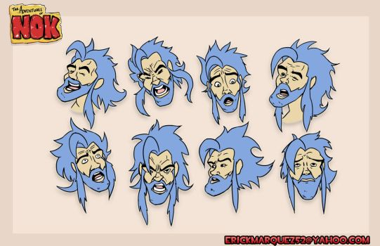 Nok expressions by TheInsaneDingo
