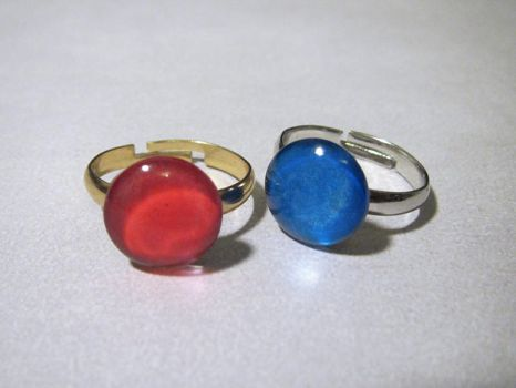 LoZ - Red and Blue Rings Redux! by Sarinilli