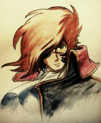 Captain Harlock by Musiriam