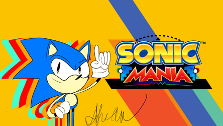 Sonic Mania by CakeyOffical1357