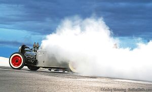 Burnout at the RRR by ButterflyLady