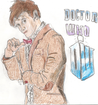 11th Doctor by Squirrelfl1ght4evr