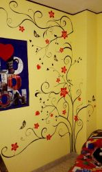 Painting Wall by ManuChan85