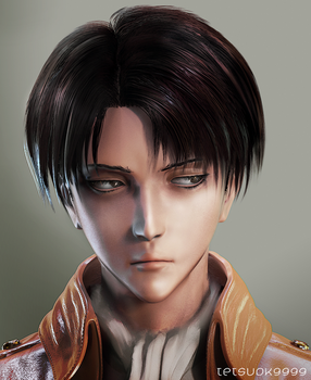 Levi (wip1) by tetsuok9999