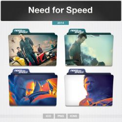 Need for Speed (Folder Icon) by limav