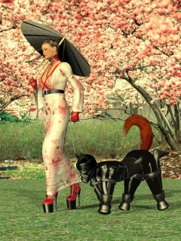 The Geisha and the Gimp by integral31