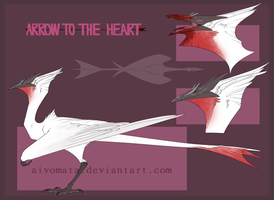 Auction #52 Arrow to the heart [closed] by Aivomata