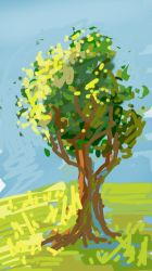 tree from sketch this by Sulmeldis-Ithilwen