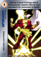 Captain Marvel Special - Arcane Lightning by overpower-3rd