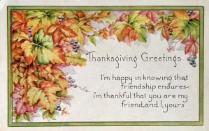 Thankful for Friendship by Yesterdays-Paper
