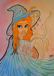 Fantasy Girl - Magic Spell by Philizius