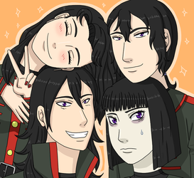 Family picture time: Saffiry by YukinaLi13