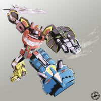 Megazord by Signsoflifeonmars