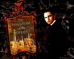 Phantom of the Opera Wallpaper by soffl