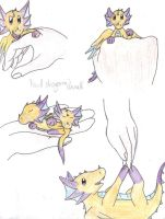 Hand dragons by Drayna