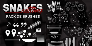 Pack de Brushes by Snakes Editions. by snakeseditions