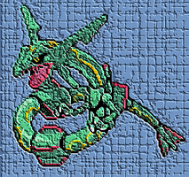 13. Mythical Monster Rayquaza