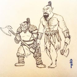 More Orcs by Woad-Warrior