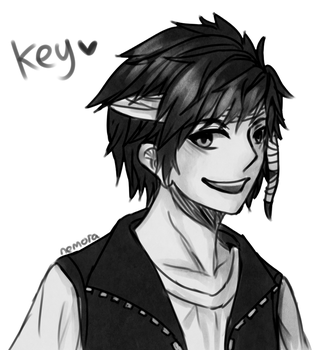 Key Black Blooded by NemoraFarraige