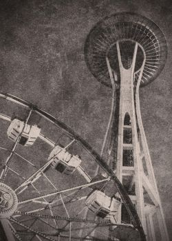 Vintage Seattle by prettyfreakjesper