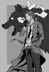The Wolf Among Us by RobasArel