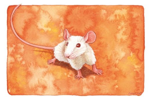 Mouse by saraquarelle